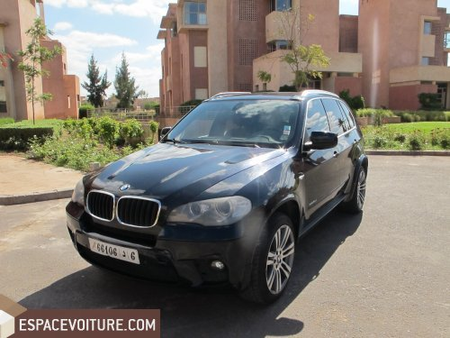 bmw x5 2011 diesel voiture d 39 occasion marrakech prix 450 000 dhs. Black Bedroom Furniture Sets. Home Design Ideas