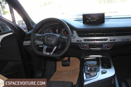 audi q7 occasion rabat diesel couleur noir r f rat8808. Black Bedroom Furniture Sets. Home Design Ideas