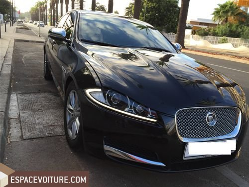 jaguar xf 2013 diesel voiture d 39 occasion casablanca prix 375 000 dhs. Black Bedroom Furniture Sets. Home Design Ideas