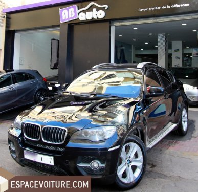 bmw x6 occasion casablanca diesel prix 265 000 dhs r f caa24264. Black Bedroom Furniture Sets. Home Design Ideas
