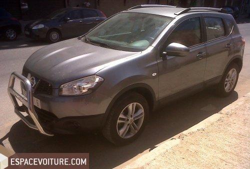 nissan qashqai 2012 diesel voiture d'occasion à casablanca prix 195