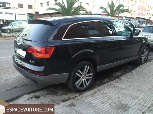 audi q7 occasion casablanca diesel prix 210 000 dhs r f caa19206. Black Bedroom Furniture Sets. Home Design Ideas
