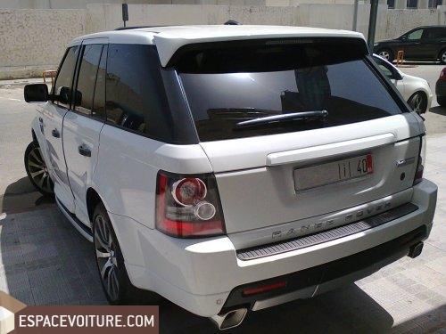land rover range rover sport 2011 diesel voiture d 39 occasion tanger couleur blanc. Black Bedroom Furniture Sets. Home Design Ideas