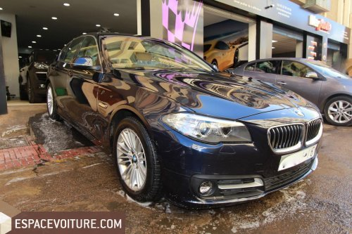 bmw serie 5 2013 diesel voiture d 39 occasion casablanca prix 295 000 dhs. Black Bedroom Furniture Sets. Home Design Ideas