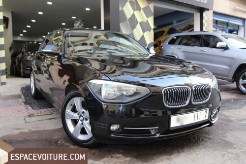 bmw serie 1 occasion casablanca essence prix 175 000 dhs r f caa24066. Black Bedroom Furniture Sets. Home Design Ideas