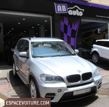 bmw x5 2010 diesel voiture d 39 occasion casablanca prix 235 000 dhs. Black Bedroom Furniture Sets. Home Design Ideas