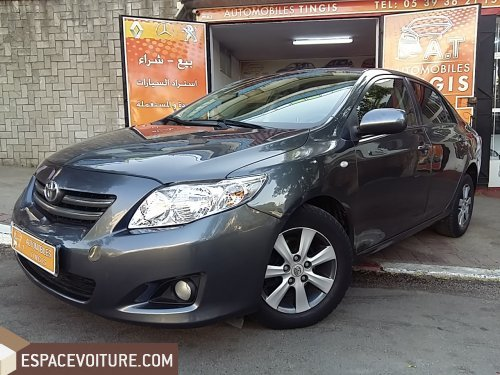 toyota corolla 2010 diesel voiture d 39 occasion tanger prix 104 000 dhs. Black Bedroom Furniture Sets. Home Design Ideas