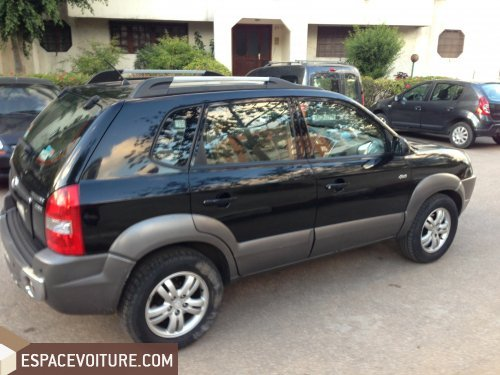 hyundai tucson 2006 diesel voiture d 39 occasion casablanca prix 132 000 dhs. Black Bedroom Furniture Sets. Home Design Ideas