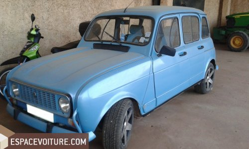 4l occasion meknes renault 4l essence couleur bleu. Black Bedroom Furniture Sets. Home Design Ideas