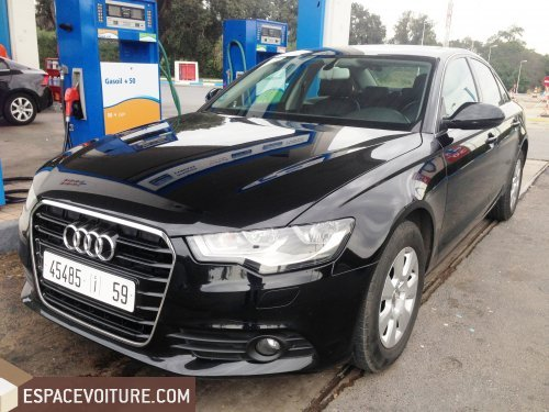 audi a6 2012 diesel voiture d 39 occasion kenitra prix 380 000 dhs. Black Bedroom Furniture Sets. Home Design Ideas