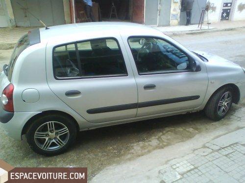 Renault Clio 2004 diesel voiture d'occasion à kenitra prix