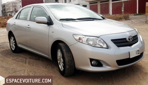 toyota corolla 2011 diesel voiture d 39 occasion agadir prix 179 000 dhs. Black Bedroom Furniture Sets. Home Design Ideas