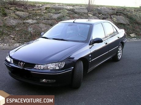 peugeot 406 occasion rabat essence prix 95 000 dhs r f rat1705. Black Bedroom Furniture Sets. Home Design Ideas