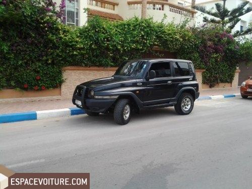 ssangyong korando 1999 diesel voiture d 39 occasion nador prix 55 000 dhs. Black Bedroom Furniture Sets. Home Design Ideas