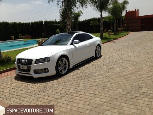audi a5 2009 diesel voiture d 39 occasion el jadida prix 430. Black Bedroom Furniture Sets. Home Design Ideas