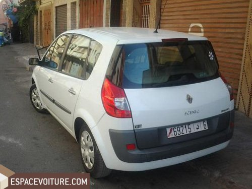renault scenic diesel voiture d 39 occasion casablanca prix 132 000 dhs. Black Bedroom Furniture Sets. Home Design Ideas