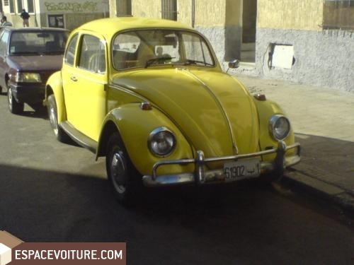volkswagen coccinelle occasion rabat essence couleur jaune r f rat1880. Black Bedroom Furniture Sets. Home Design Ideas