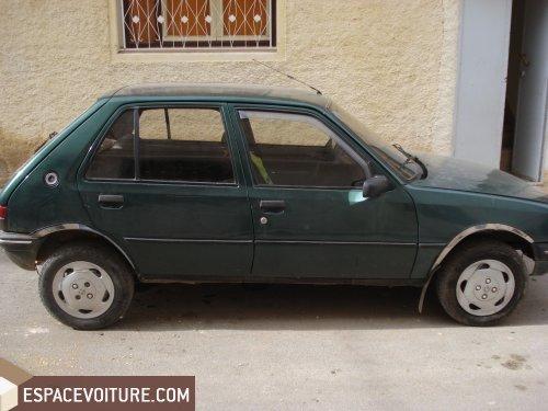 peugeot 205 1986 diesel voiture d 39 occasion fes prix 30 000 dhs. Black Bedroom Furniture Sets. Home Design Ideas