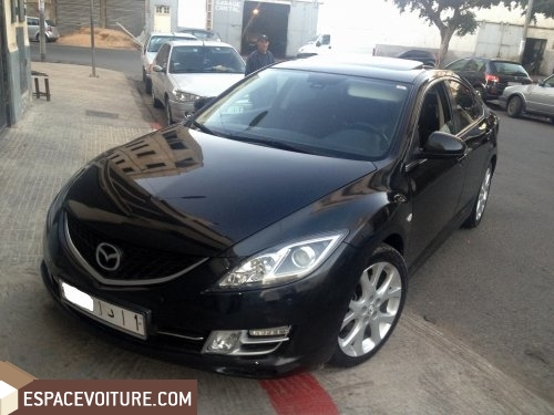mazda 6 occasion casablanca essence prix 145 000 dhs r f caa12490. Black Bedroom Furniture Sets. Home Design Ideas