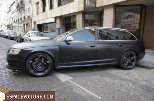 audi rs6 occasion rabat essence prix 1 350 000 dhs r f rat4817. Black Bedroom Furniture Sets. Home Design Ideas