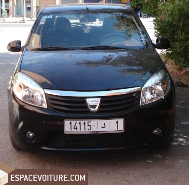 dacia sandero 2010 diesel voiture d 39 occasion kenitra prix. Black Bedroom Furniture Sets. Home Design Ideas