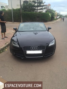 audi tt 2007 essence voiture d 39 occasion casablanca prix 165 000 dhs. Black Bedroom Furniture Sets. Home Design Ideas