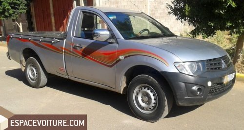 mitsubishi l200 2011 diesel voiture d 39 occasion beni mellal prix 115 000 dhs. Black Bedroom Furniture Sets. Home Design Ideas