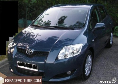 toyota auris occasion casablanca diesel prix 115 000 dhs r f caa16503. Black Bedroom Furniture Sets. Home Design Ideas