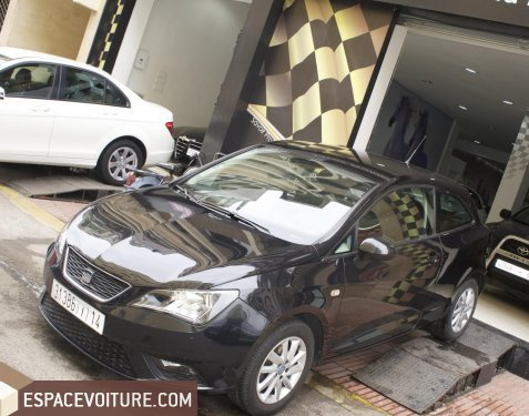 seat ibiza 2013 essence voiture d 39 occasion casablanca prix 97 000 dhs. Black Bedroom Furniture Sets. Home Design Ideas