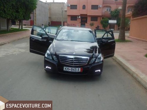 mercedes benz classe e 2009 diesel voiture d 39 occasion berkane prix 440 000 dhs. Black Bedroom Furniture Sets. Home Design Ideas