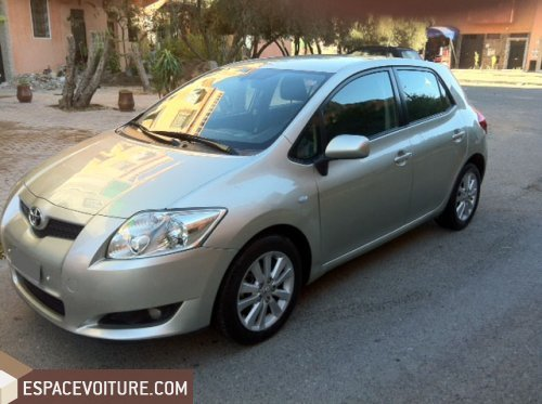 toyota auris 2009 diesel voiture d 39 occasion marrakech prix 130 000 dhs. Black Bedroom Furniture Sets. Home Design Ideas