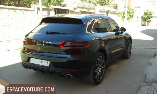 porsche macan 2014 diesel voiture d 39 occasion rabat prix 700 000 dhs. Black Bedroom Furniture Sets. Home Design Ideas