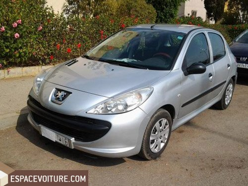 206 occasion sale peugeot 206 essence prix 69 000 dhs r f sae924. Black Bedroom Furniture Sets. Home Design Ideas