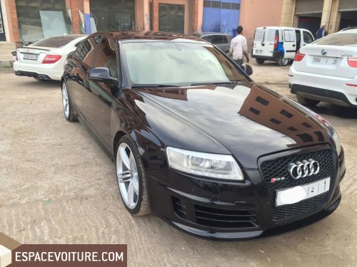 audi rs6 occasion marrakech essence prix 350 000 dhs r f mah3286. Black Bedroom Furniture Sets. Home Design Ideas