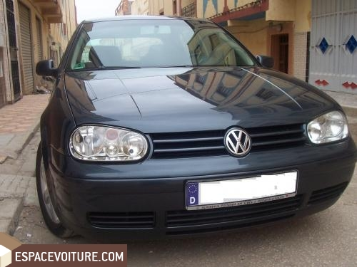 volkswagen golf occasion oujda diesel prix 155 000 dhs r f oua107. Black Bedroom Furniture Sets. Home Design Ideas
