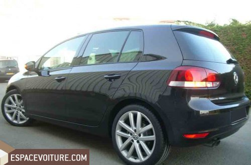 volkswagen golf 2010 diesel voiture d 39 occasion agadir prix 183 000 dhs. Black Bedroom Furniture Sets. Home Design Ideas