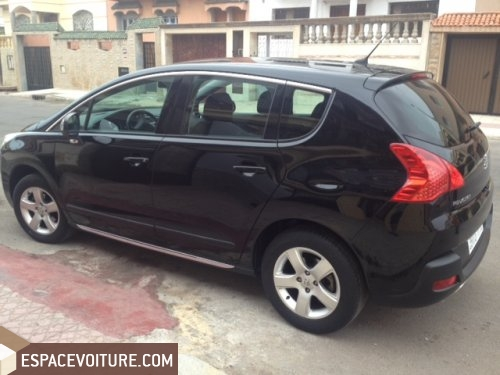 peugeot 3008 2011 diesel voiture occasion casablanca. Black Bedroom Furniture Sets. Home Design Ideas